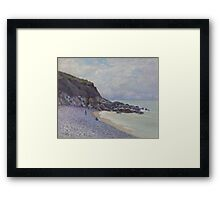 Alfred Sisley - Lady's Cove, Langland Bay, Wales 1897  Impressionism  Landscape  Framed Print