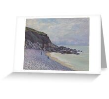 Alfred Sisley - Lady's Cove, Langland Bay, Wales 1897  Impressionism  Landscape  Greeting Card