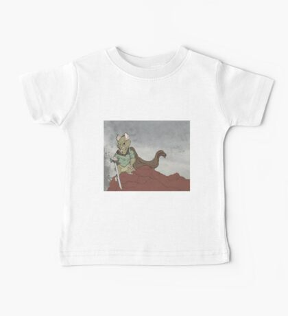 Warrior Mouse Baby Tee