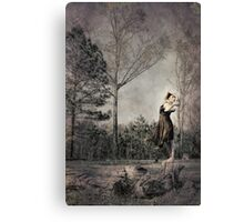 Uprooting Canvas Print