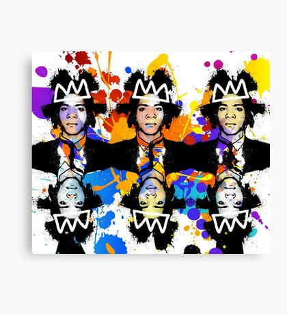 Basquiat Army Canvas Print