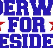 america underwood for president 2016 Sticker