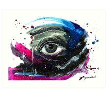 The eye of the Universe Art Print