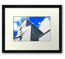 Grain Elevator Framed Print