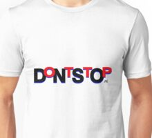 DontStop Design - Red Unisex T-Shirt