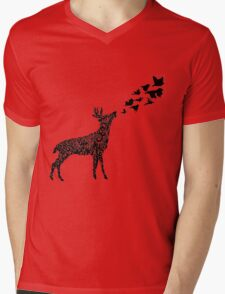 Low Roar Mens V-Neck T-Shirt