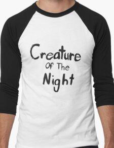 Creature of The Night Men's Baseball ¾ T-Shirt