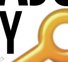 Major Key KKG Sticker