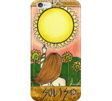Sun Tarot Card iPhone Case/Skin