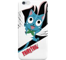 Black Fairy Tail (Happy Session) iPhone Case/Skin