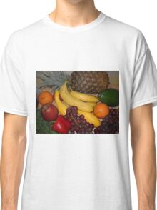 Grapes Pepper Banana and Pineapple Classic T-Shirt