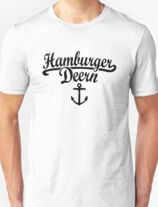 Hamburger Deern Classic Anker (Schwarz) T-Shirt