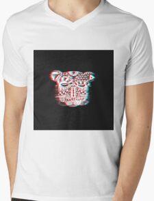 Spirit Bear 3D Mens V-Neck T-Shirt