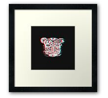 Spirit Bear 3D Framed Print
