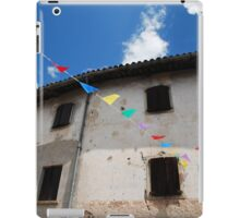 Rural Friulian Building iPad Case/Skin