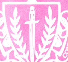 panhel // silver wreath Sticker