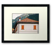 Latteria  Framed Print