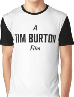 Tim Burton. Graphic T-Shirt