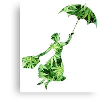 Weed Mary Poppins Canvas Print