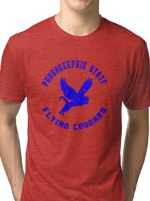 POUGHKEEPSIE STATE FLYING COUGARS Tri-blend T-Shirt