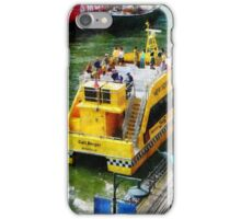 Water Taxi At South Street Seaport iPhone Case/Skin
