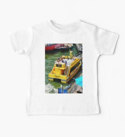 Water Taxi At South Street Seaport Baby Tee