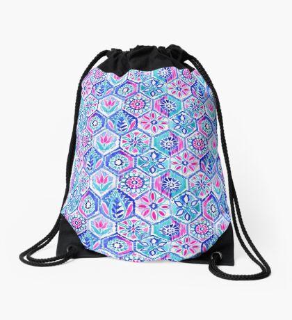 Portuguese mosaic  Drawstring Bag