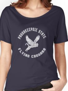 POUGHKEEPSIE STATE FLYING COUGARS Women's Relaxed Fit T-Shirt
