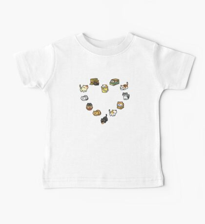 Neko Atsume - Heart Baby Tee