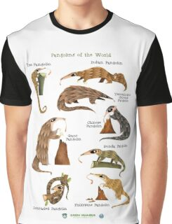 Pangolins of the World Graphic T-Shirt