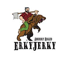 Erky Jerky - Absurdly Rugged Photographic Print