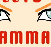 Ecto Gammat Sticker