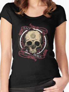 Salt & Burn Women's Fitted Scoop T-Shirt