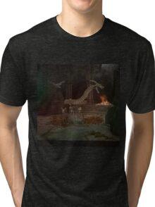 Zombie Cave Tri-blend T-Shirt