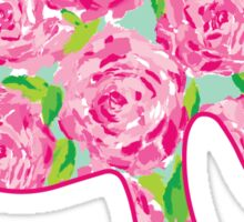 Lilly Roses Elephant Sticker