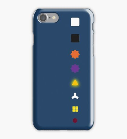 The Witness - Puzzle Types iPhone Case/Skin