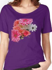 Barbie Flowers Women's Relaxed Fit T-Shirt
