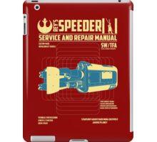 REY'S SPEEDER iPad Case/Skin