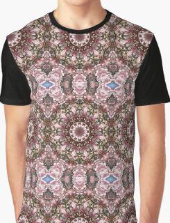 Spring blossoms, Floral mandala-style, Flower Mandala Graphic T-Shirt