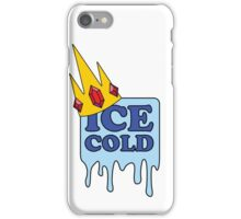 Ice Cold - Adventure Time iPhone Case/Skin