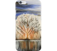 White Willow iPhone Case/Skin