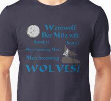 Werewolf Bar Mitzvah Unisex T-Shirt