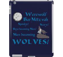 Werewolf Bar Mitzvah iPad Case/Skin