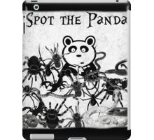 Spot the Panda iPad Case/Skin
