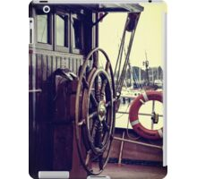 Take the wheel iPad Case/Skin