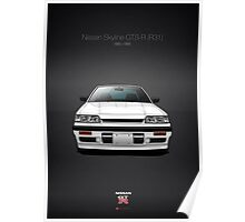 Nissan Skyline GTS-R (R31) Poster