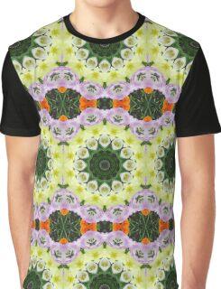 Tulips, Flower mandala, Floral mandala-style Graphic T-Shirt