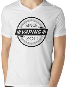Vaping Since 2011 Mens V-Neck T-Shirt