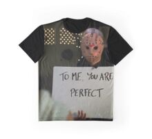 Jason Vorhees in Love Actually Graphic T-Shirt
