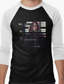 Root - Person of Interes - Quote Men's Baseball ¾ T-Shirt